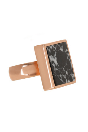 Peter Lang - RI372 Marble Skies Queen of the Night Adjustable Ring