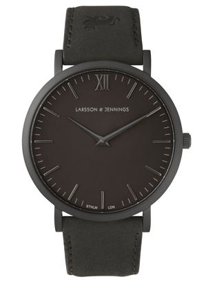Larsson & Jennings - LJ-W-SVART-S-BB Lugano 40 Watch