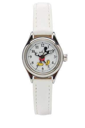 myer online watches petite mickey white ta56753 watch
