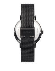 Christian Paul - 43mm Marble Mesh Strap - The Strand - Black:Black