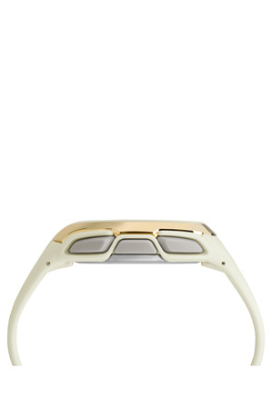 Timex - Ironman Sleek 150 Hollywood Watch in Gold White