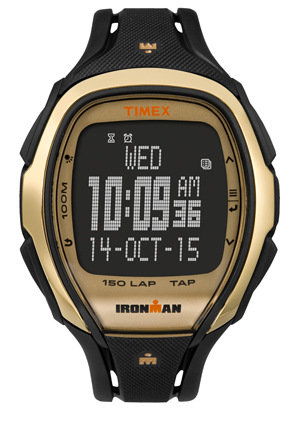 Timex - Ironman Sleek 150 Hollywood Watch in Gold Black