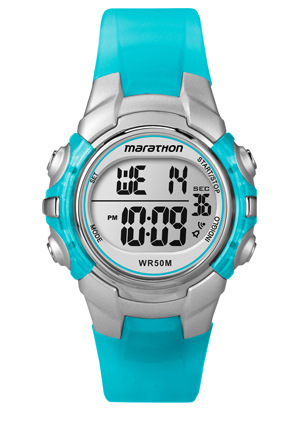 Timex - Marathon Mid Size Watch in Light Blue