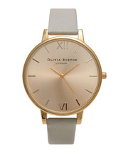 Olivia Burton - Big Dial Grey & Gold Watch