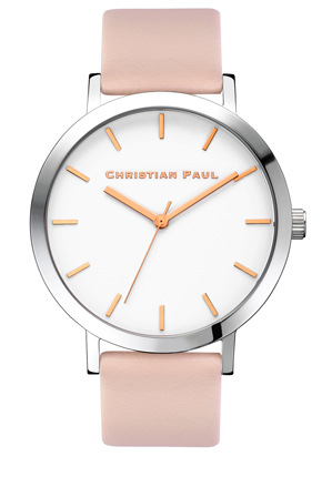 Christian Paul - RW-01 Raw Collection Silver Watch