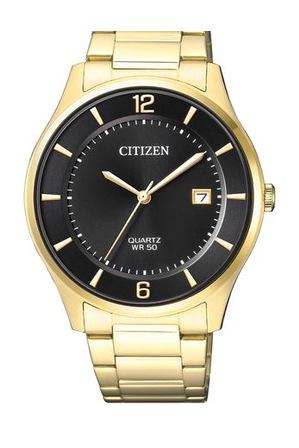 citizen bd0043 83e stainless steel quartz date in