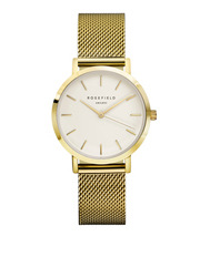 TWG-T51 33MM Tribeca White Dial with Gold Mesh