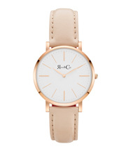 Rose & Coy - RCM0301 Mini Pinnacle Peach And Rose Gold Watch