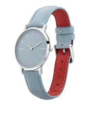 Rose & Coy - RCM0801 Mini Pinnacle Silver And Blue Watch