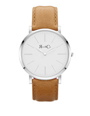 Rose & Coy - RC0402 Pinnacle Silver And Tan Watch