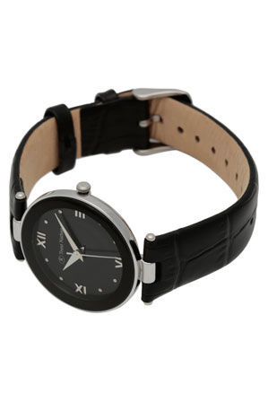 Trent Nathan - Black Leather Watch TNL210L2