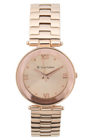 Trent Nathan - Rose Gold TNL211L2 Watch