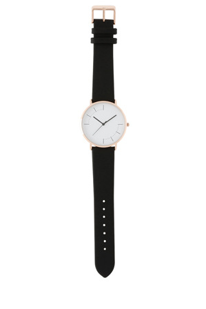Trent Nathan - Trent Nathan A160162-A2-1 Unisex Leather Band Watch