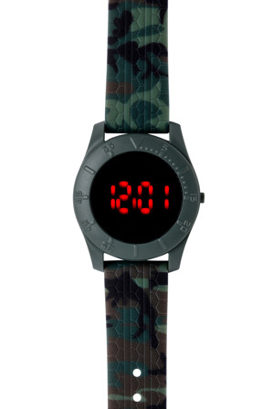 myer online watches 3138camo gift box digital watch