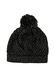 Innovare Made in Italy - Metallic Beanie with Pom Pom