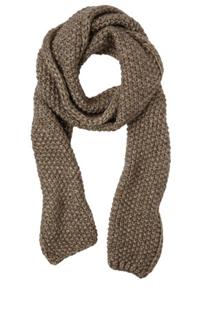 Innovare Made in Italy - Metallic Ribbed Scarf