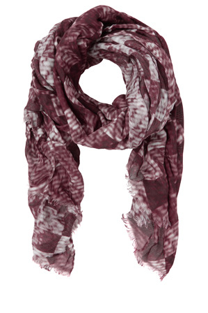 Trent Nathan - Grid Print Scarf