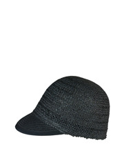 Morgan & Taylor - Twisted Paper Cap with Braided Brim