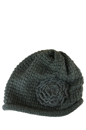 Morgan & Taylor - Beanie with Flower