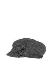 Gregory Ladner - Boucle Cap With Button Trim