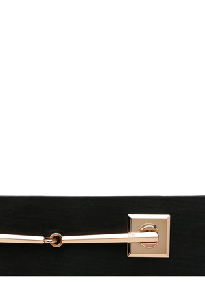 Buckle - Cally 55mm Dress Belt with Gold Front Detail