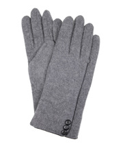 Dents - Soft Feel Gloves with Button and Piping Trim