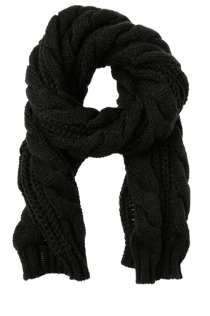 Gregory Ladner - Chunky Cable Scarf