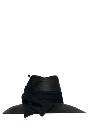 Gregory Ladner - Polyprop High Hood Hat With Side Swipe Bow