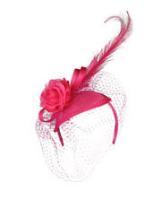 Collection - 'MYA' Fascinator with Feathers & Veiling