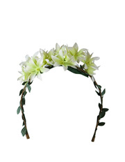 Morgan & Taylor - Flowers and Leaves on Headband