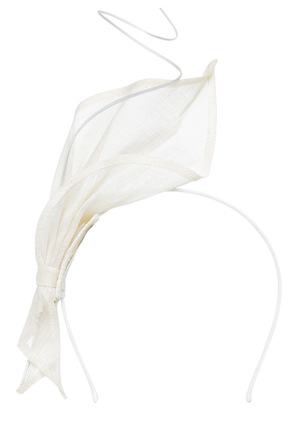 Gregory Ladner - Abstract Leaf With Curl Feather On Headband