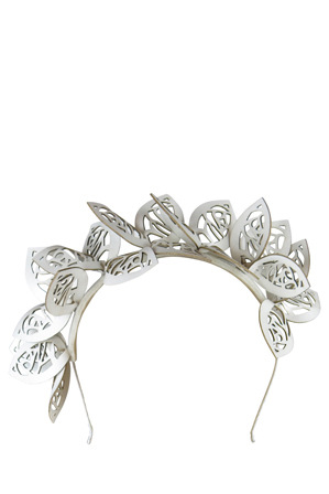 Morgan & Taylor - Lazer Cut Flower Crown