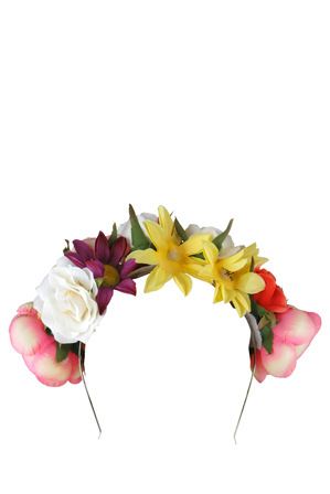 Morgan & Taylor - Flower Garland Headband