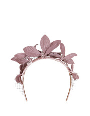 Morgan & Taylor - Flowers With Viel Headband