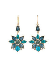 Carolee - Carolee Flower Stone Drop Earring