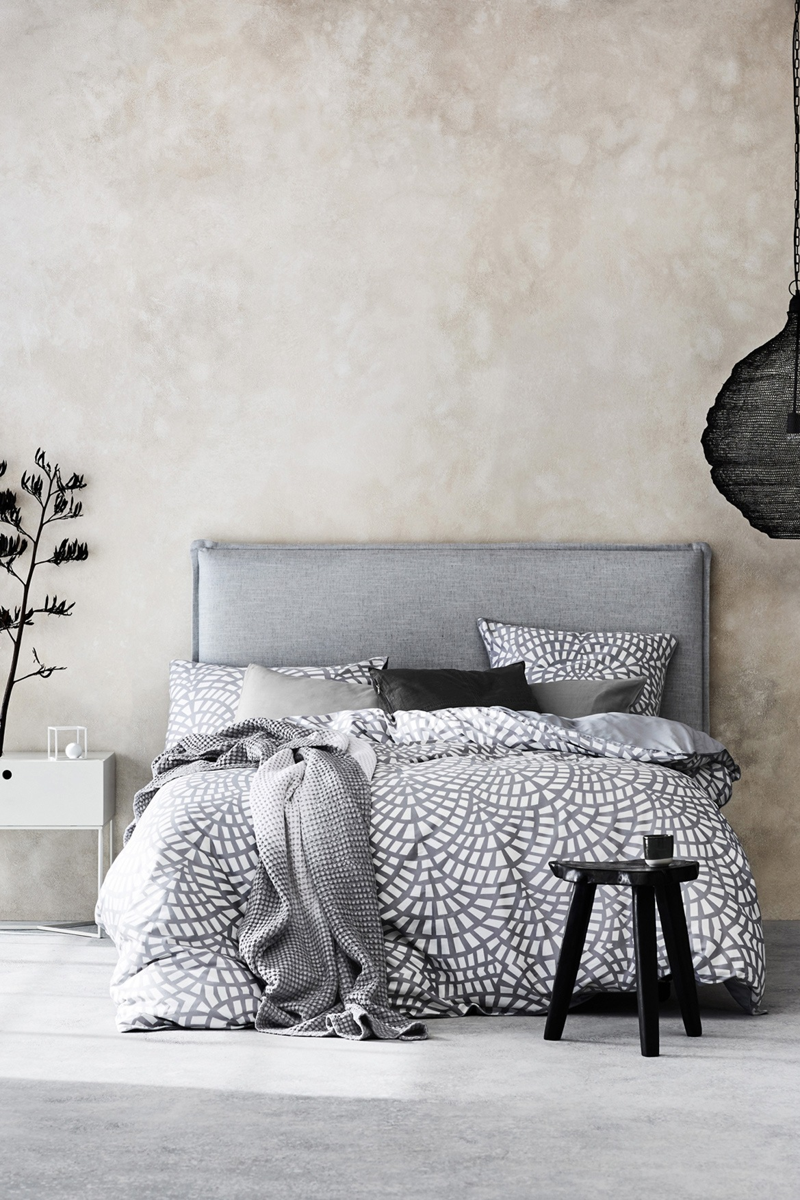 Aura by tracie ellis finca quilt cover set range in for Tracie ellis bedding