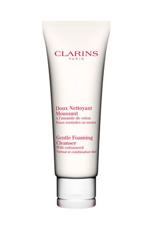 Clarins - Gentle Foaming Cleanser with Cottonseed-  Normal or Combination Skin