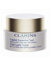Clarins - Vital Light Night Revitalizing Anti-Ageing Comfort Cream Dry Skin 50ml