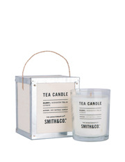 The Aromatherapy Company - Smith & Co Tea Chest Candle - Hibiscus Tea & Citrus