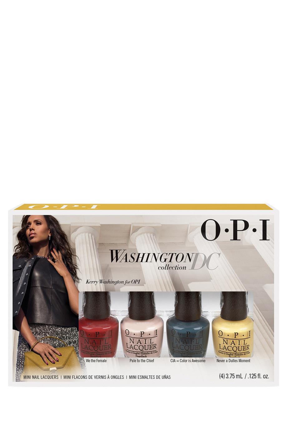 OPI | Washington DC Mini 4-Pack | Myer Online