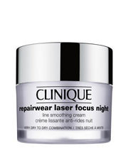 Clinique - Repairwear Laser Focus Night Line Smoothing Cream for Very Dry to Dry Skin