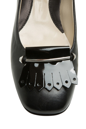 Innovare Made in Italy - Elsa Black Patent and Nappa Loafer