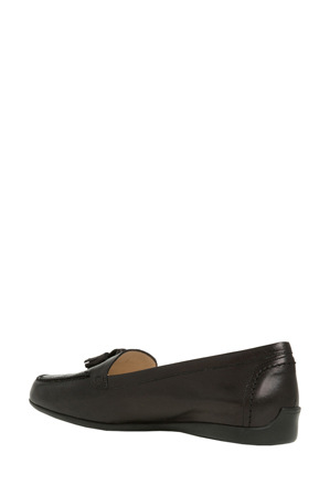 Innovare Made in Italy - Freya Black Leather Loafer