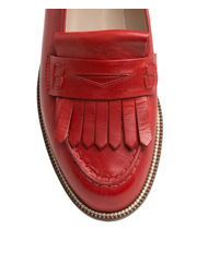 Innovare Made in Italy - Fia Red Leather Loafer