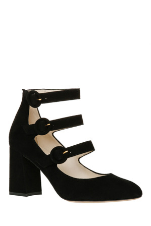 Innovare Made in Italy - Yuri Black Suede Pump