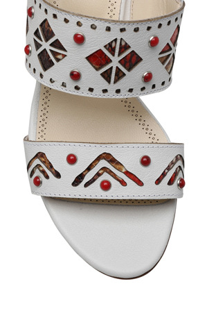 Innovare Made in Italy - Jessa White Sandal
