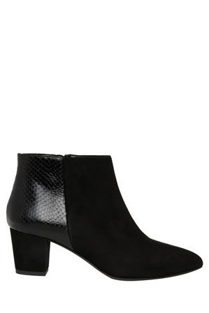 Innovare Made in Italy - Marvel Black Suede/Snake Boot
