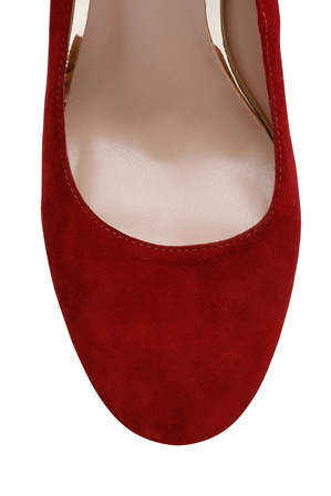 Leona by Leona Edmiston - Wizz Red Suede Pump