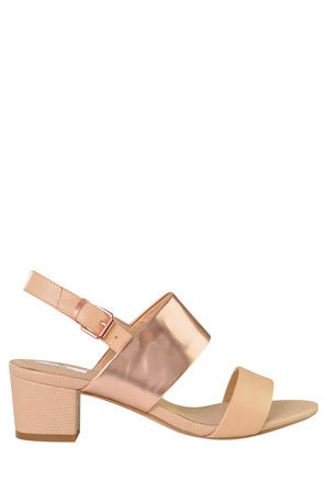 Nude Footwear - Loyal Gold Sandal