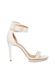 Calvin Klein - Vable Soft White Cow Silk Sandal